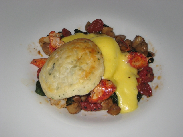 The Setai Fifth Avenue NYC Hotel Review - Lobster Benedict at Ai Fiori