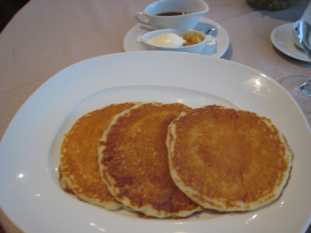 The Setai Fifth Avenue NYC Hotel Review - Pancakes at Ai Fiori