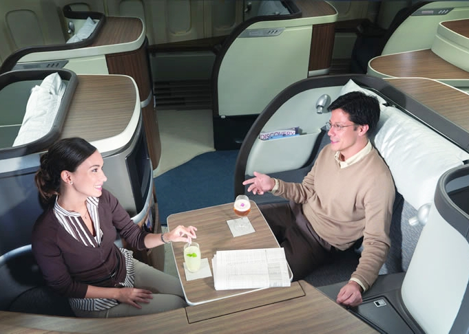 Best First Class Seats for Couples: Cathay Pacific