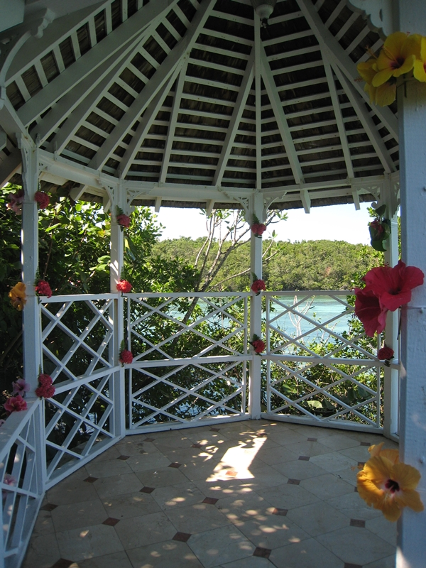 Couples Sans Souci Jamaica - Wedding Gazebo