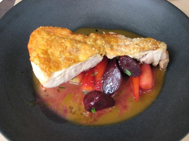 Nougatine at Jean-Georges NYC Restaurant Week Review - Crispy Organic Chicken