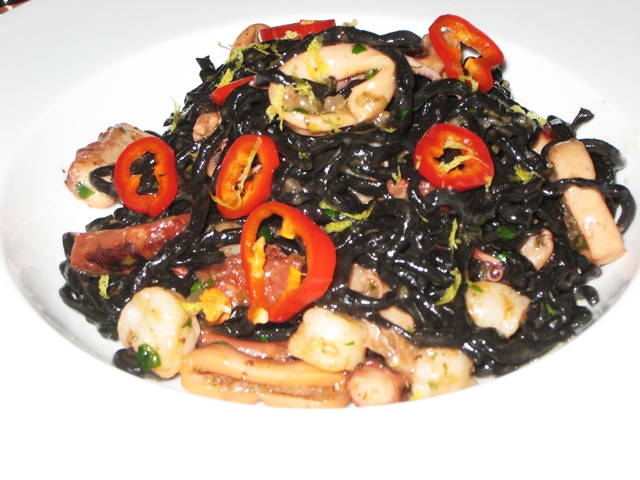 Riverpark NYC Restaurant Review - Squid Ink Chitarra