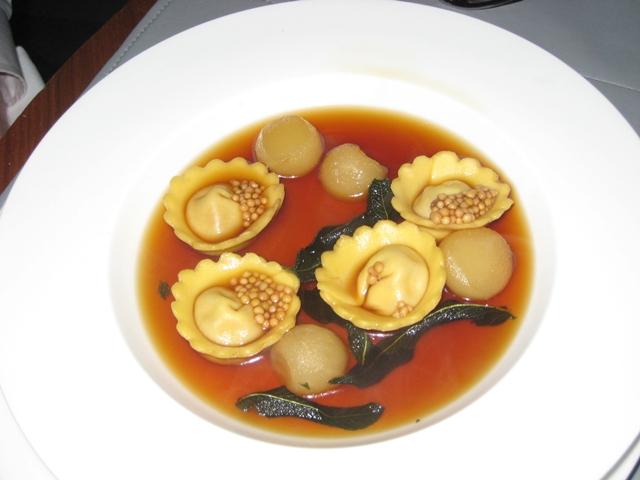 Riverpark NYC Restaurant Review - Testa Tortellini