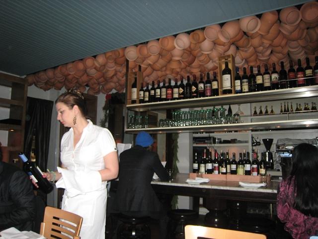 Pylos nyc restaurant review and menu pylos menu and nyc restaurant review communal table and greek pots publicscrutiny Gallery