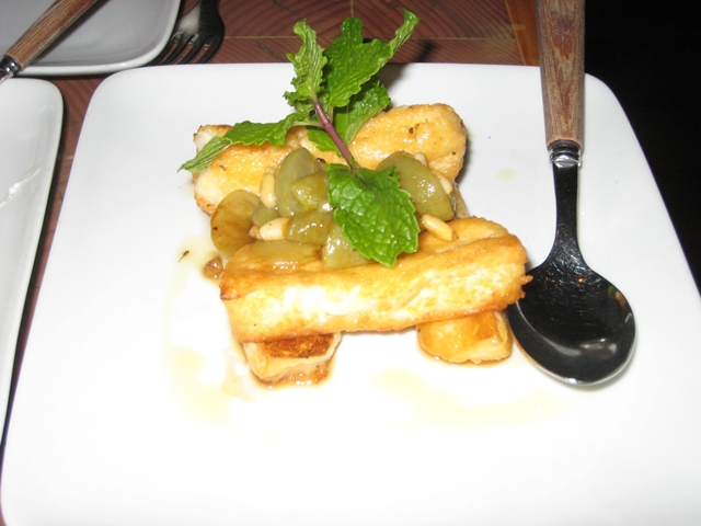 Pylos nyc restaurant review and menu pylos menu and nyc restaurant review sauteed haloumi cheese publicscrutiny Image collections