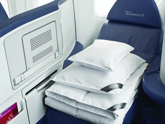 Delta: Westin Heavenly Bed Coming to BusinessElite Seat