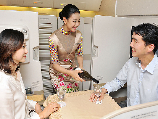 Asiana New First Class Suite NYC to Seoul Bookable with United Miles