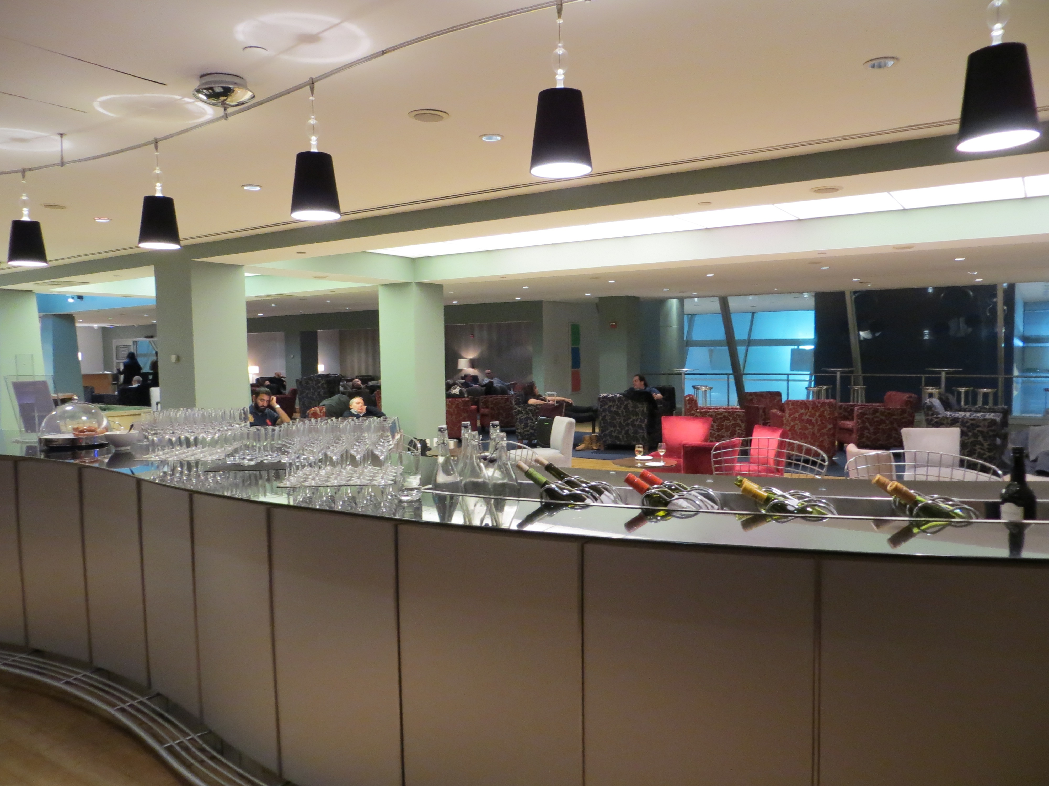 Cathay Pacific First Class JFK Lounge: British Airways Galleries
