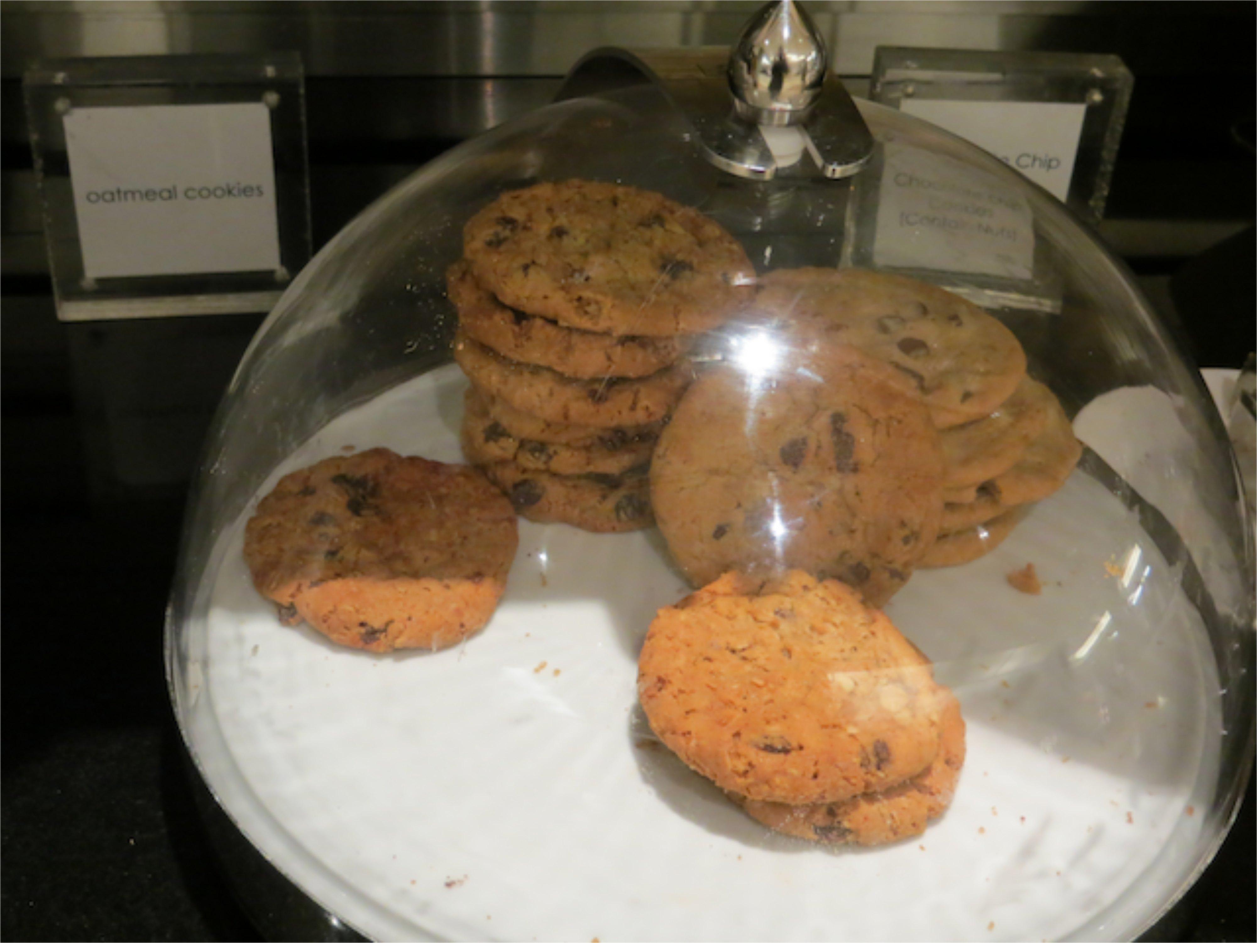 British Airways Galleries Lounge JFK - Cookies