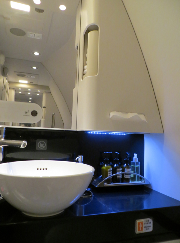 Cathay Pacific First Class Bathroom