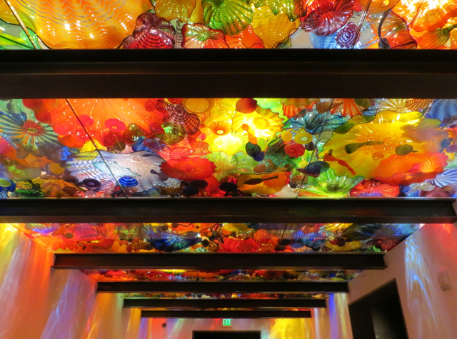 Chihuly Garden and Glass - Persian Ceiling