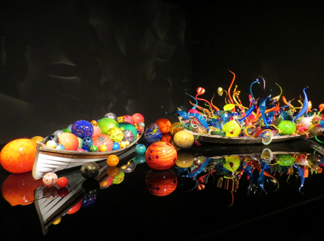 Chihuly Garden and Glass - Ikebana and Floats