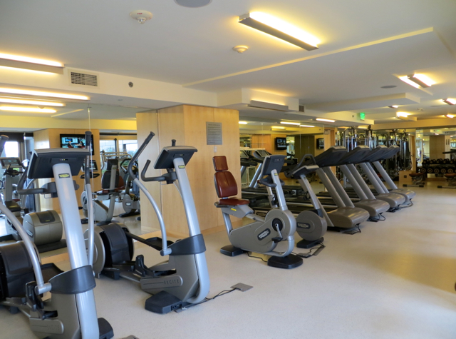 Four Seasons Seattle Hotel Review: Fitness Center