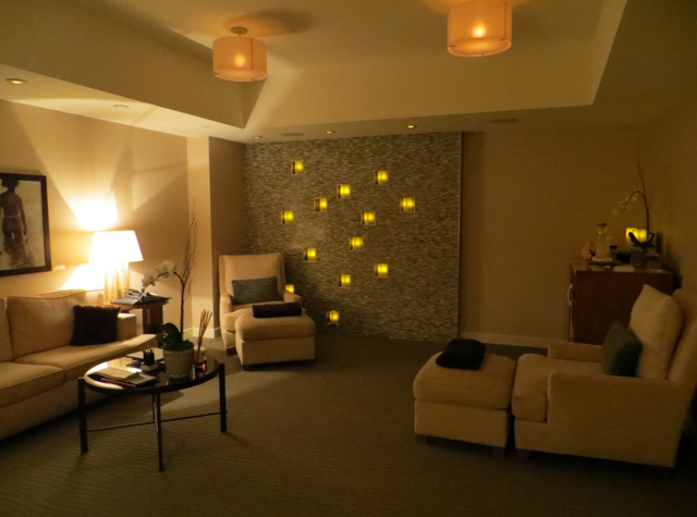 Four Seasons Seattle Hotel Review: Spa Relaxation Room
