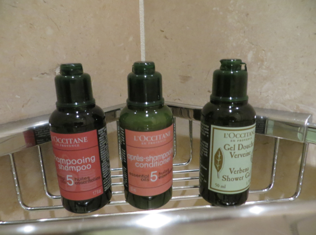 Four Seasons Seattle Hotel Review - L'Occitane Bath Amenities
