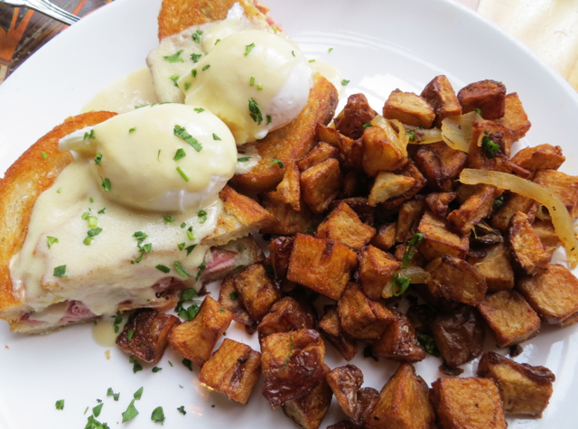 Toulouse Petit Seattle Restaurant Review - Croque Madame