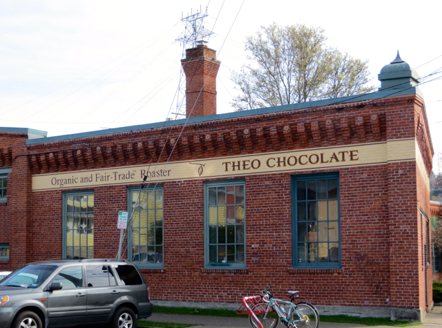 Theo Chocolate Factory Tour, Seattle