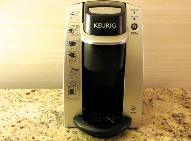 Four Seasons Vancouver Hotel Review - Keurig Coffee Maker