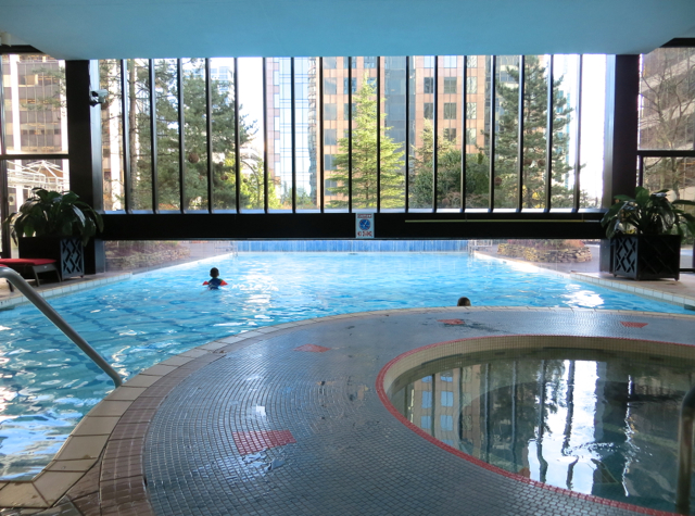 Four Seasons Vancouver Hotel Review - Indoor Outdoor Heated Pool