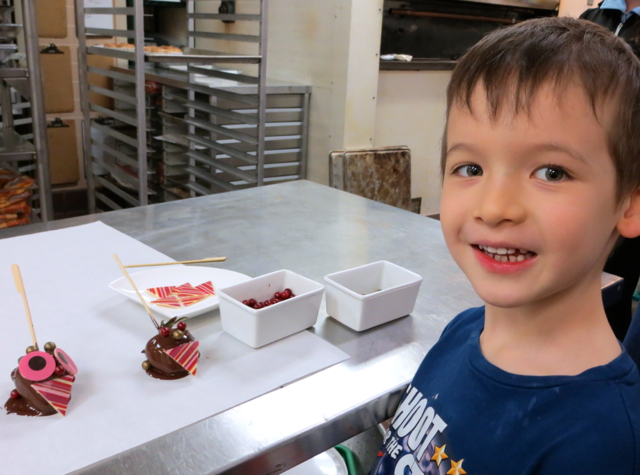 Four Seasons Vancouver Hotel Review - Kids in the City Pastry Kitchen Tour