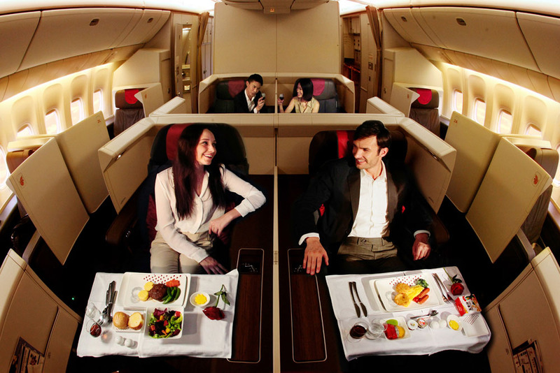 Best Frequent Flyer Program and Credit Cards for Award Flights to China - Air China First Class