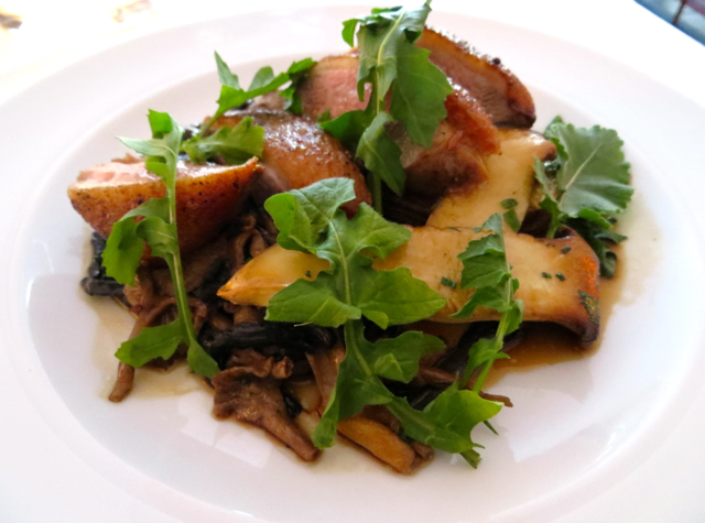Bishop's Vancouver Restaurant Review - Duck Breast with Wild Mushrooms