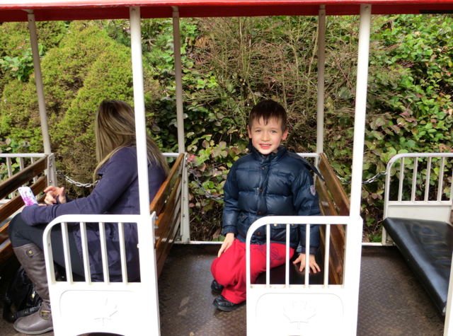 Stanley Park Miniature Train-Vancouver with Kids
