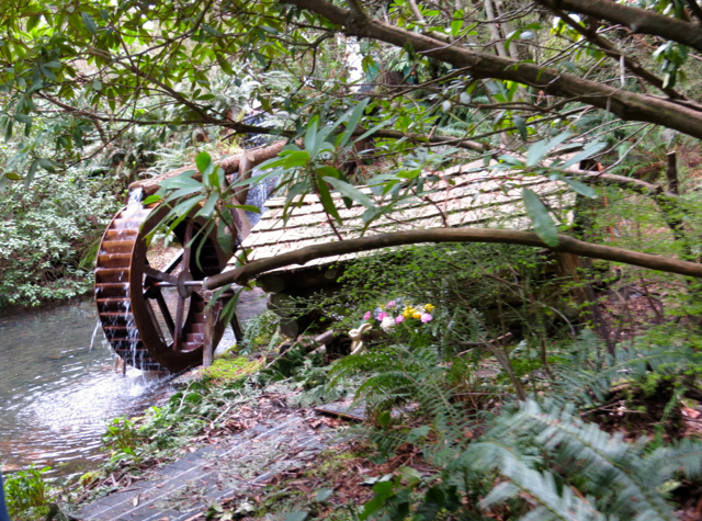 Stanley Park Miniature Train-Vancouver with Kids-Water Wheel