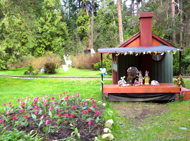 Stanley Park Miniature Train-Easter Train