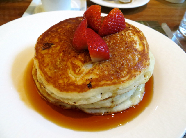 YEW Restaurant Review-Lemon Ricotta Pancakes