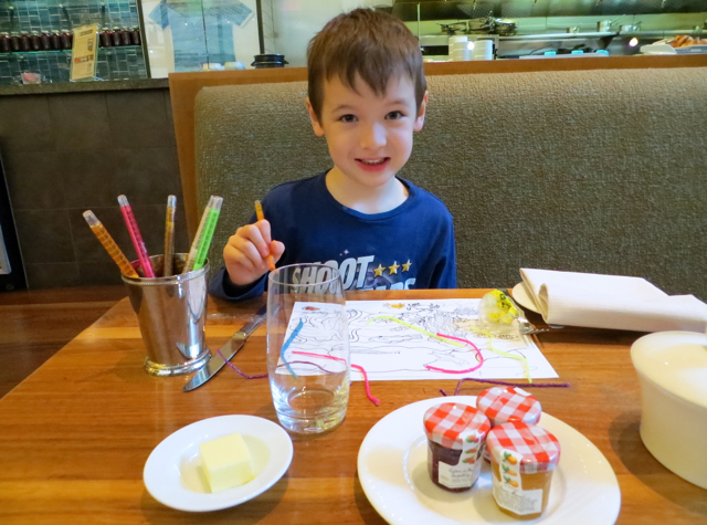 YEW Restaurant Review-Four Seasons Vancouver-Kids' Amenities