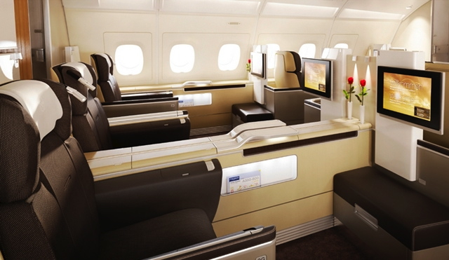 Best Ways to Use Chase Ultimate Rewards Points - Lufthansa First Class