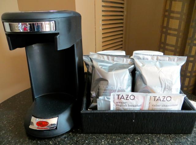Review-Grand Hyatt Seattle-Coffee Maker-Tea Maker