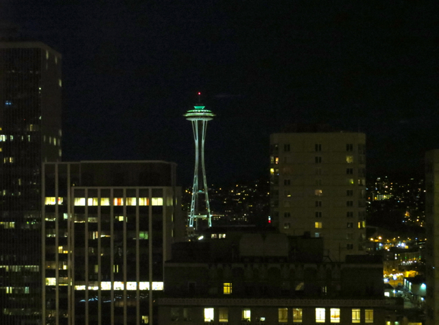 Review-Grand Hyatt Seattle-View of Space Needle