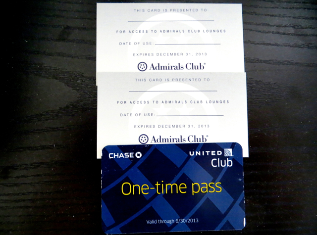Giveaway: American Airlines Admirals Club Lounge Passes and United Club Lounge Pass