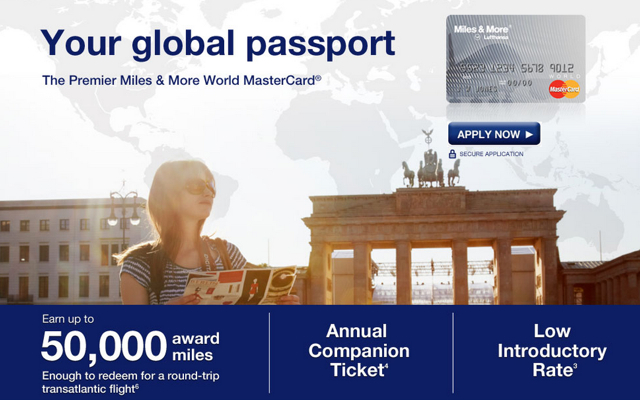 50,000 Lufthansa Premier Miles & More MasterCard-Worth It?
