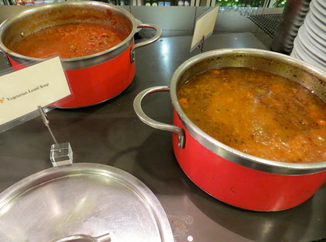 Review-American Airlines Flagship Lounge NYC JFK - Soups