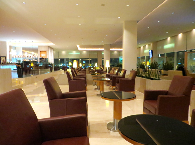 Review: Qatar Premium Terminal Business Class Lounge in Doha - Seating