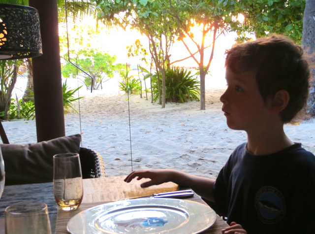Park Hyatt Maldives Island Grill Review - Our Table