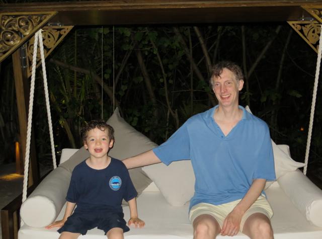 Park Hyatt Maldives Island Grill Review - Swing