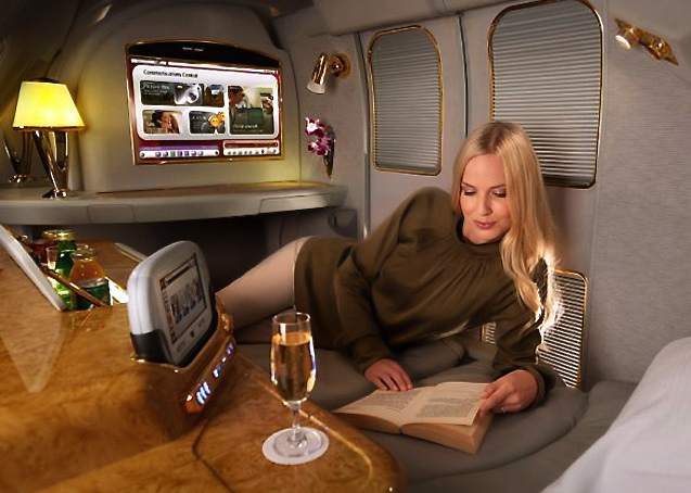 Best Ways to Use SPG Points - Emirates First Class