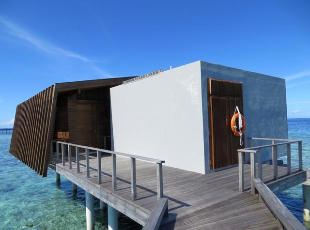 Park Hyatt Maldives Water Villa Review - Entrance to Water Villa