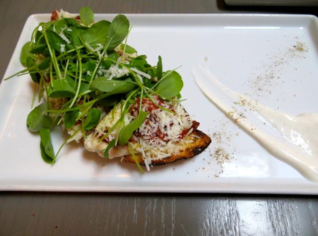 Fish Tag NYC Restaurant Review - Bacala Skordalia Brandade Melt