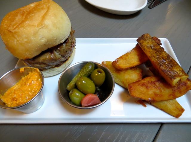 Fish Tag NYC Restaurant Review - Lamb Burger