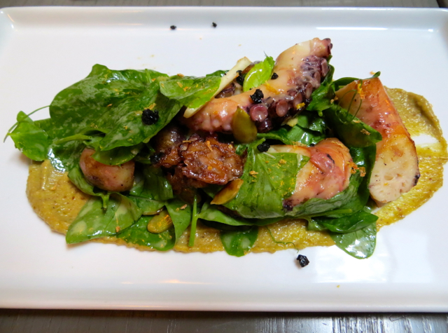 Fish Tag NYC Restaurant Review - Smoked Octopus