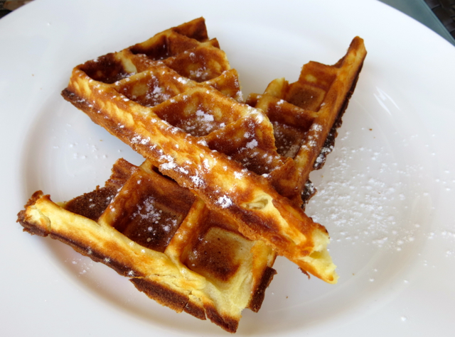 Park Hyatt Maldives Free Breakfast Changes - Waffles