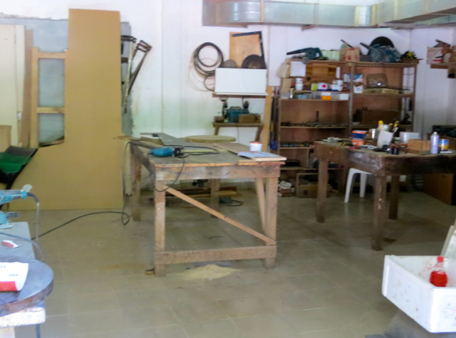 Park Hyatt Maldives Back of House Tour - Carpentry Room