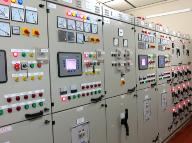 Park Hyatt Maldives Back of House Tour - Control Panels for Power Generators