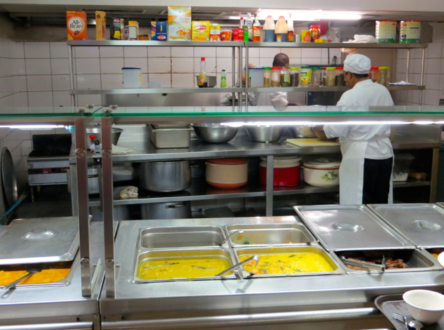 Park Hyatt Maldives Back of House Tour - Staff Kitchen and Staff Canteen