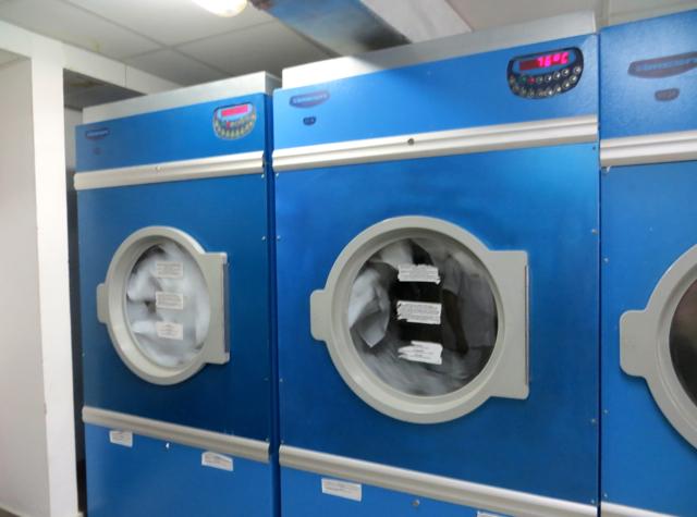 Park Hyatt Maldives Back of House Tour - Laundry